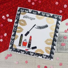 Card created using For the Love of Stamps by Hunkydory Crafts You're Fabulous Stamp Set