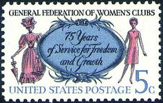 Founded in 1891, the General Federation of Women's Clubs have programs ranging from aiding school dropouts to encouraging international unde...