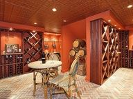Wouldn't mind sipping a nice glass of Merlot in this wine cellar.  115 E Allendale Rd Saddle River Boro, NJ