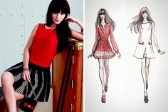 Obsessed with Zooey Deschanel's new line of dresses!