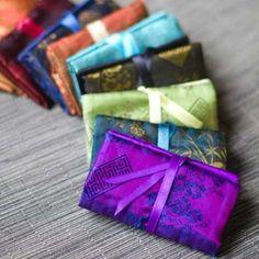 Travel Jewelry Organizer Jewelry Roll Custom Made by UpUrAly