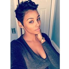 "12.3k Likes, 55 Comments - The Cut Life (@thecutlife) on Instagram: ""Such a beauty! @skysherlimit  #thecutlife #selfie #shorthair #beauty"""