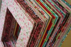 fabric covered frame mats from cardboard
