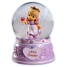 Precious Moments Little Princess Musical Snow Globes