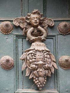 Cherub Door Knocker