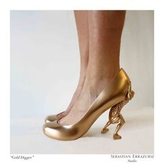 12 Shoes for 12 Lovers by Sebastian Errazuriz: Part 1 in style fashion news events art  Category