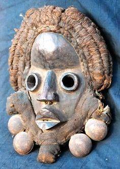 Máscara Dan, de Costa de Marfil