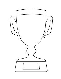super bowl trophy coloring pages super bowl trophy coloring pages pinterest craft - Super Bowl Trophy Coloring Pages