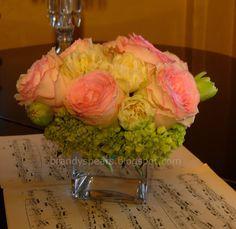 Brandy Spears - Floral Designer: Examples of vased flowers for ...