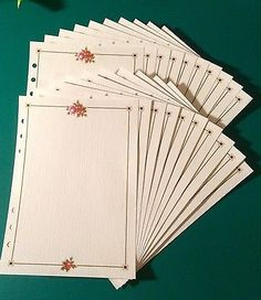 Filofax-A5-Organiser-Planner-20-Sheets-of-Beautiful-Textured-Flower-Paper