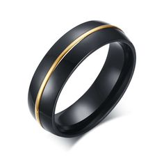 Wide Classic Black men Jewelry Fashion Titanium Steel Ring men trendy Wedding band anel masculino US size bague homme Black Band Ring, Mens Band Rings, Gold Band Ring, Black Rings, Men Rings, Gold Diamond Wedding Band, Wedding Ring Bands, Wedding Jewelry, Thin Gold Rings