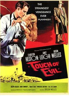 What elements can you compare and contrast between the film crash (2004) and A Touch of Evil?