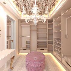 Luxury Closet Design & High End Closet Systems Walk In Closet Design, Bedroom Closet Design, Master Bedroom Closet, Girl Bedroom Designs, Closet Designs, Dressing Room Closet, Dressing Room Design, Dream Home Design, Home Interior Design
