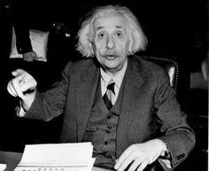 Albert Einstein German born American physicist - Central Press/Hulton Archive/Getty Images