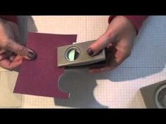 ▶ Snowman Silhouette card…Make it in 2 minutes or less by Ronda Wade - YouTube