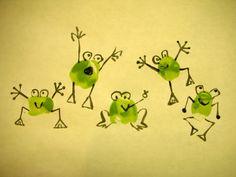 Résultat d'images pour frog fingerprint art Toddler Crafts, Crafts For Kids, Arts And Crafts, Paper Crafts, Fabric Crafts, Fingerprint Crafts, Thumbprint Crafts, Thumbprint Tree, Frog Theme