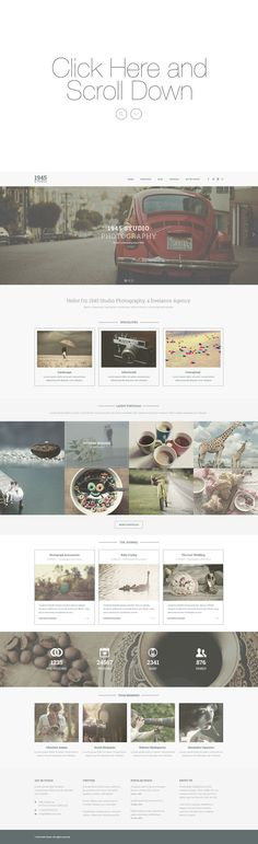 BUNDLE - Clean PSD Website Template by Maulana Creative on Creative Market