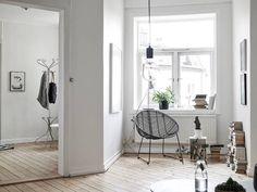Swedish apartment in soft colours styled by Emma Hos - NordicDesign