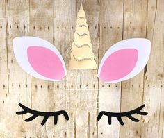 #unicornhorn #unicornparty #unicornbirthdayparty #unicornbirthday #unicorndiy Diy Unicorn Horns, Unicorn Ears, Paper Flower Decor, Paper Flower Backdrop, Flower Diy, Backdrop Decorations, Flower Decorations, Crafts For 3 Year Olds, 96 Hours