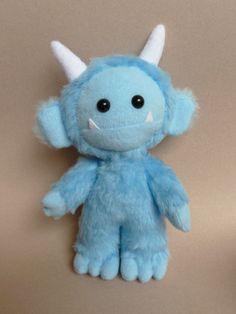Lurk the cute plush monster by CreepyandCute on Etsy https://www.etsy.com/listing/129075804/lurk-the-cute-plush-monster