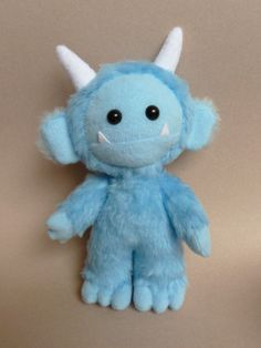 Lurk the cute plush monster by CreepyandCute on Etsy https://www.etsy.com/listing/129075804/lurk-the-cute-plush-monster