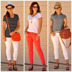 7 x 7 remix, seven pieces for seven days of casual spring and summer outfits.