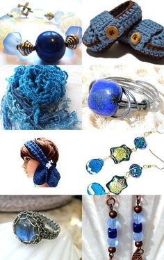 Electric Blue - Magnetic Attraction curated by EarthLifeShop OnFire team  --Pinned with TreasuryPin.com