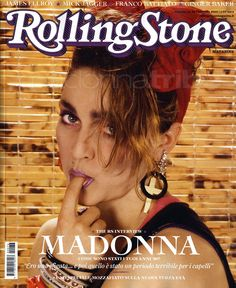 Madonna on the cover of Rolling Stone