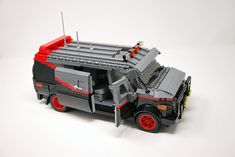 Lego Police Car, Lego Cars, Lego Tv, Lego Truck, Lego Robot, Technique Lego, Lego Furniture, Minecraft Furniture, Bedroom Furniture