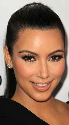 Kim 's makeup