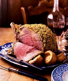 From mustard and thyme-crusted rib of beef to roast beetroot salad, these cracking dinners are ideal for those who fancy something a bit different from chicken or turkey. Roast Dinner, Sunday Roast, Rib Roast, Roast Beef, Roast Chicken, Prime Rib Of Beef, Roast Recipes, Dinner Recipes, Dinner Entrees