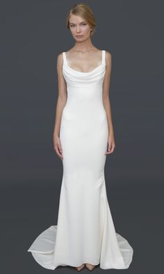 Barcelona Gown | Katie May - love this, but the back is too low for me. Give me a cowl in the back with a lace inset.... and I'm good!