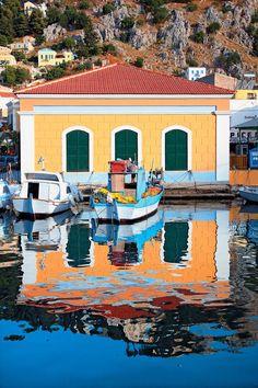 #symi #greece #traveltogreece Beautiful Islands, Beautiful World, Beautiful Places, Travel Around The World, Around The Worlds, Greece Islands, Crete Greece, Europe, Ancient Greece