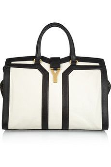 YSL - large cabas chyc leather tote