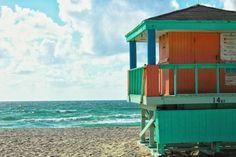 Beach Life Guard Tower Photography