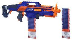 La imagen se está cargando Nerf-implementar-CS-6-Rifle-Pistola-con-laser-