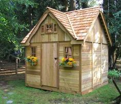 Simple Shed Plans in Building Your Own Outdoor Sheds | Cool Shed ...