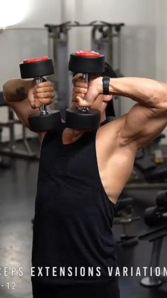 Bicep And Tricep Workout, Gym Workout Chart, Gym Workout Videos, Abs Workout Routines, Gym Workout For Beginners, Gym Workout Tips, Dumbbell Workout, Workout Fitness, Gym Workouts For Men