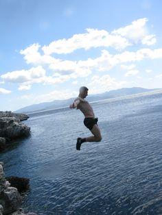 Diving Center in Nea Makri Cliff Diving, Running, Keep Running, Why I Run