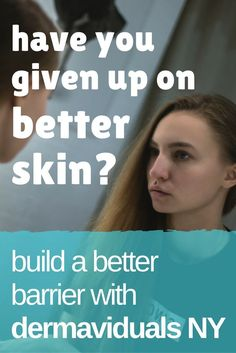 Get clear skin and a lifted look by rebuilding the natural skin barrier -- Be heathier!