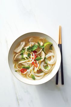 """Quick Chicken Pho 
