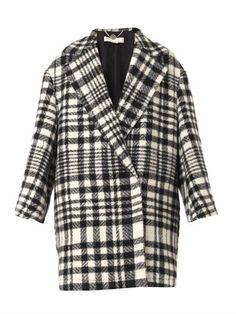 Fonny double-breasted blanket coat | Stella McCartney | MATCHE...