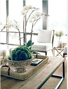 Inspiration For Coffee Table Centerpiece