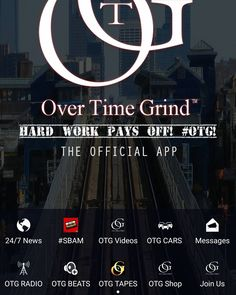 Just added @slikkmouth my new artist to the official @OverTimeGrind app. Got the beats in there. (Over 100 industry quality beats ready for your songs. Already made for hooks verses and bridges. R&B and Rap. Eastcoast. Down south. Midwest. Westcoast. ) all the albums. All the cars (50 cars for sale) promo and consultations for sale in the store. Merchandise coming next week. (Xmas) download the app today.