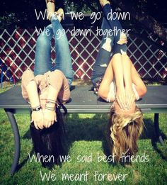 Best Friends Forever! #BFF #bestfriends #quote #friendship #love #beautiful