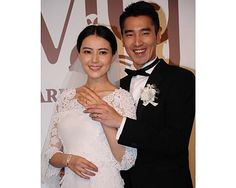 Taiwanese actor Mark Chao tied the knot with Chinese actress Gao Yuanyuan amid a star-studded celebration.