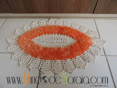 TAPETE OVAL BARROCO DECORE