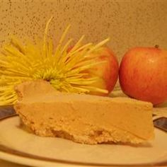 Frosty Pumpkin Pie. This is fantastic! I used to make it every year with my preschool class.