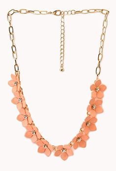 Floral Necklace | FOREVER21 - 1047933230