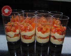 Une recette facile et à tomber d verrines crème parmesane et tomates, succès garanti !